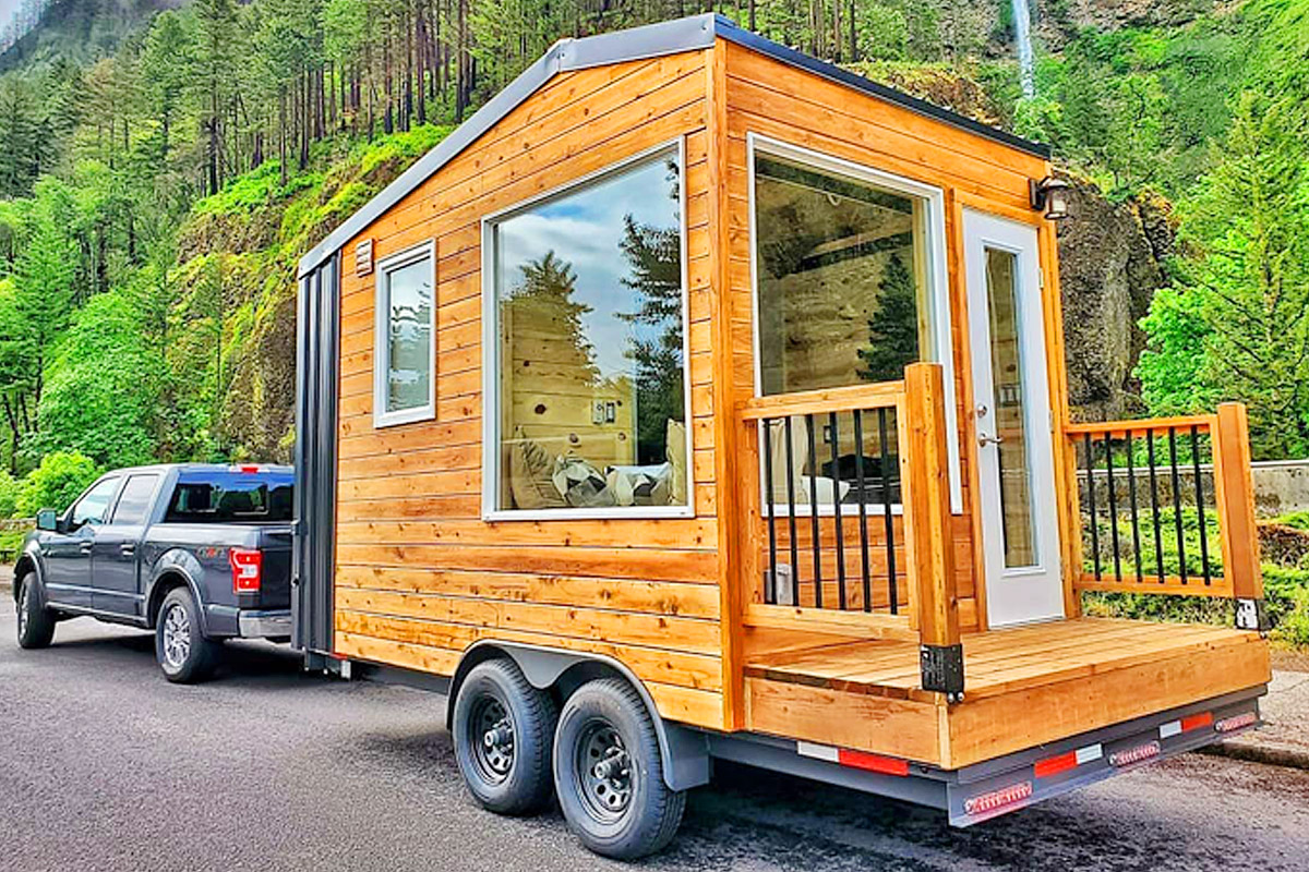Micro Tiny House On Wheels Acorn By Backcountry Tiny Homes Country Froot